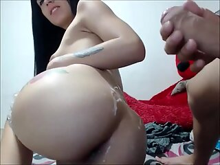 Hot Inked Teen Tranny Assfucked and Jizzed