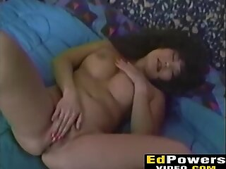 Curly thai chick Jade East gets her pussy eaten by Ed
