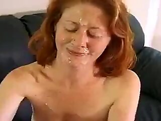 Blonde would like jizz on her facial area