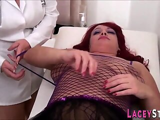 Grandmother banged and licks in threesome