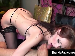 Naughty Housewife Shanda Fay Gets A Cock In Her Pussy & Ass!