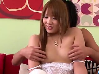 Top porn session for Japanese lingerie babe Rinka Aiuchi