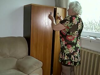 Norma Granny is back to porn