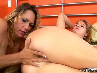 Debi Diamond gets down and nasty on her girlfriends pussy getting her off