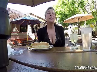 G2 Granny gets Gangbanged and creampie a lot