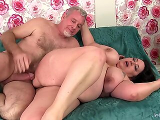 Mature BBW Lacy Bangs Gets Ass Fucked