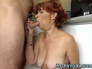 Old redheaded lady fucked