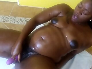 Oiled up stretches part 2