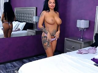 Huge Boobs Latina Playing On Cam - Pervert Latino Private E1 High Def
