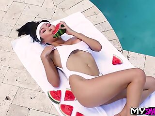 Honey Moon In Hot Cock On Hot Day