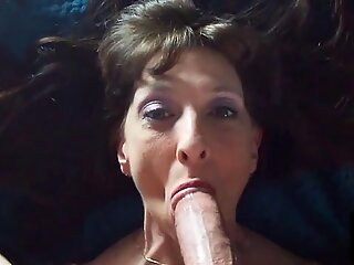 Sexy Granny Swallows Cum After Doggystyle Banging