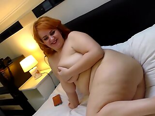 BBW MILF Katrin Porto hairy pussy`s pissing and teasing with big ass and big boobs nude