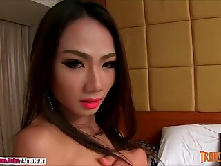 Ladyboy Enjoy Strips And Shows Her Gorgeous Cock And Ass - LadyboyDream.Tub