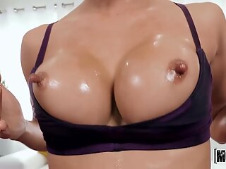 18 yo Ho with Big Tits & Nips casted in Hairy PussyReport this video