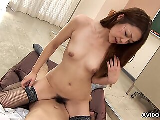 Sitting down on a cock and the sex gets really heated