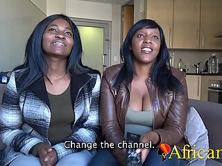 First time lesbian for chubby Africans