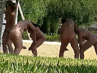 Naked Outdoor Yoga