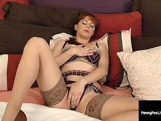 Ginger Bush Penny Pax Gets Her Pussy Pounded &amp_ Mouth Fucked!