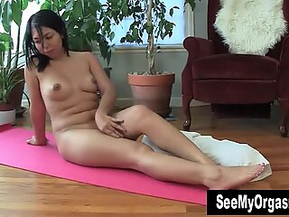 Nasty Asia Masturbating On The Floor
