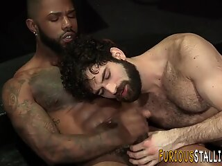 Gay dude rammed with bbc