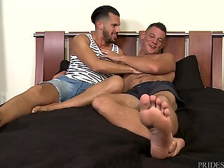 Love When Big Dick Daddy Sweats During Sex