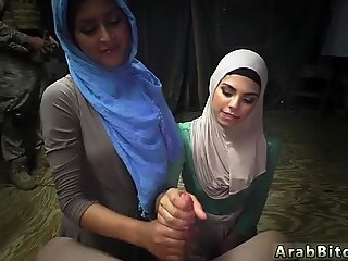 Muslim big boobs and hairy xxx Sneaking in the Base!